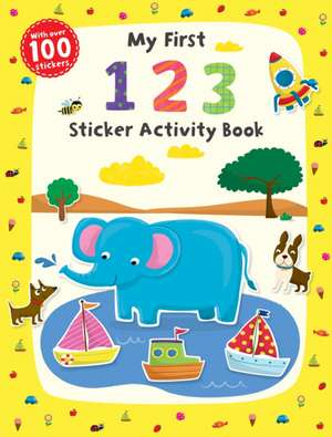 My First 1 2 3 Sticker Activity Book