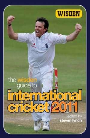 The Wisden Guide to International Cricket 2011 imagine