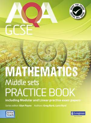 Payne, G: AQA GCSE Mathematics for Middle Sets Practice Book