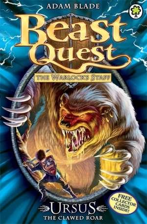 Beast Quest: 49: Ursus the Clawed Roar de Adam Blade