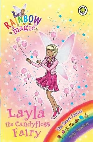Rainbow Magic: Layla the Candyfloss Fairy de Daisy Meadows