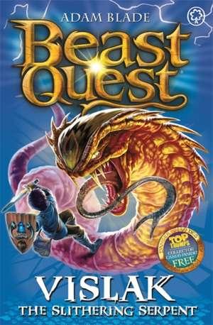 Beast Quest: Vislak the Slithering Serpent de Adam Blade