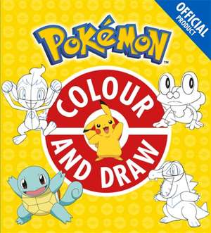 Official Pokemon Colour and Draw de  Pokemon