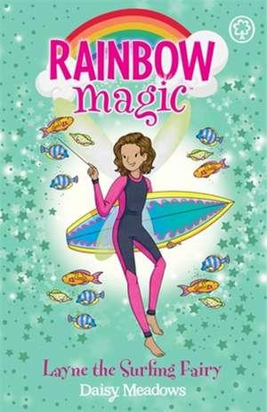 Rainbow Magic: Layne the Surfing Fairy de Daisy Meadows
