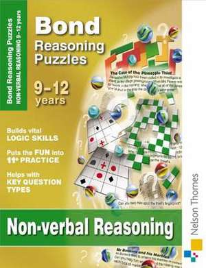 Adams, L: Bond Reasoning Puzzles - Non-Verbal Reasoning
