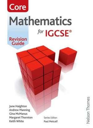 Essential Mathematics for Cambridge IGCSE Core Revision Guide