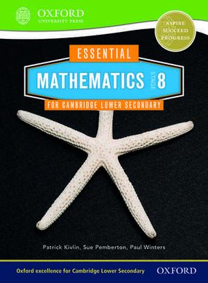 Essential Mathematics for Cambridge Lower Secondary Stage 8 de Sue Pemberton