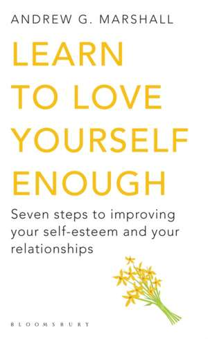 Learn to Love Yourself Enough imagine
