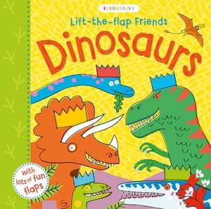 Lift-the-flap Friends Dinosaurs de Peter Allen