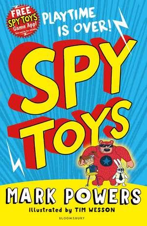 Spy Toys de Mark Powers