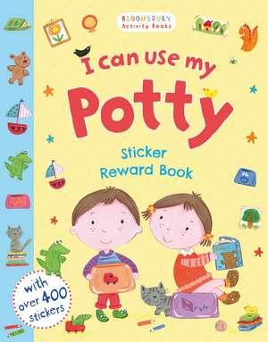 I Can Use My Potty Sticker Reward Book de Kay Widdowson