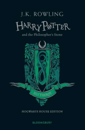 Harry Potter and the Philosopher's Stone – Slytherin Edition de J. K. Rowling