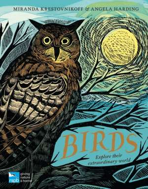 RSPB Birds: Explore their extraordinary world de Miranda Krestovnikoff