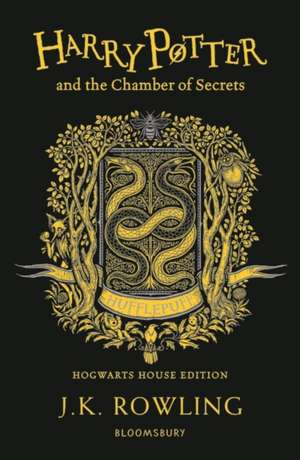 Harry Potter and the Chamber of Secrets – Hufflepuff Edition de J. K. Rowling