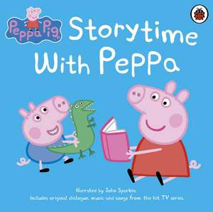 Peppa Pig: Storytime with Peppa de John Sparkes