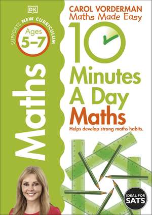 10 Minutes A Day Maths, Ages 5-7 (Key Stage 1) imagine