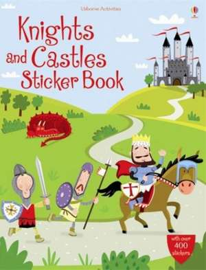 Knights and Castles Sticker Book imagine