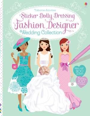 Sticker Dolly Dressing Fashion Designer: Wedding Collection