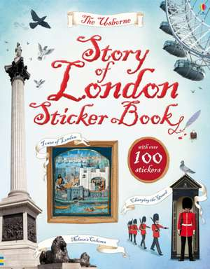 Story of London Sticker Book de Rob Lloyd Jones