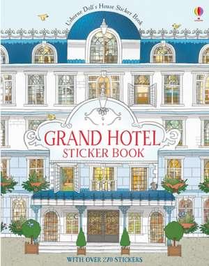 Grand Hotel Doll's House Sticker Book de Jonathan Molmoth