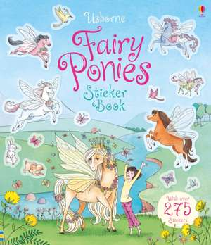 Fairy Ponies Sticker Book de Lesley Sims