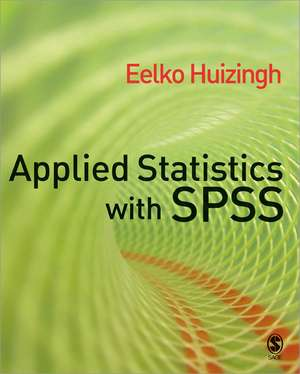 Applied Statistics with SPSS imagine