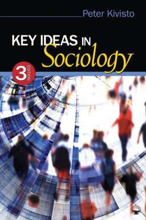 Key Ideas in Sociology de Peter Kivisto
