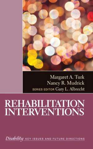 Rehabilitation Interventions