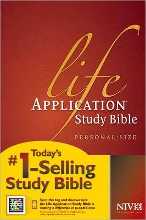 Life Application Study Bible-NIV-Personal Size de Tyndale House Publishers