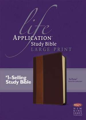 Life Application Study Bible NKJV-Large Print
