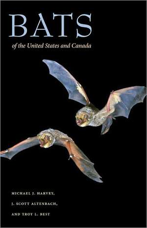 Bats of the United States and Canada