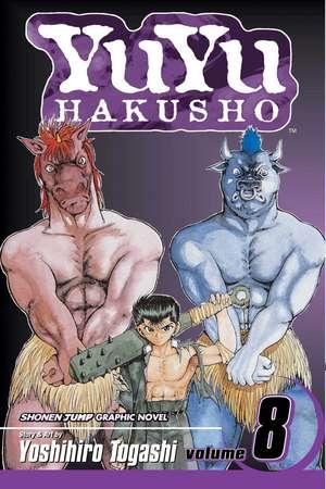 YuYu Hakusho, Volume 8