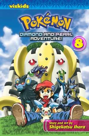 Pokémon, Diamond and Pearl Adventure, Volume 8 de Shigekatsu Ihara