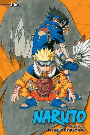 Naruto (3-in-1 Edition), Vol. 3