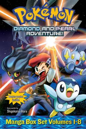 Pokémon Diamond and Pearl Adventure! Box Set de Shigekatsu Ihara