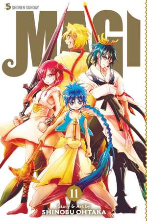 Magi: The Labyrinth of Magic, Vol. 11