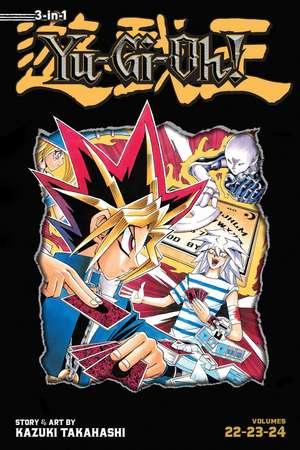 Yu-Gi-Oh! (3-in-1 Edition), Vol. 8: Includes Vols. 22, 23 & 24 de Kazuki Takahashi