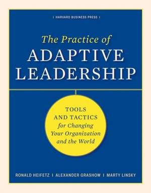The Practice of Adaptive Leadership imagine