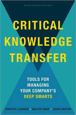Critical Knowledge Transfer imagine