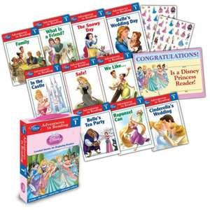 Disney Princess Reading Adventures Disney Princess Level 1 Boxed Set imagine