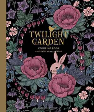 "Twilight Garden Coloring Book: Published in Sweden as ""Blomstermandala"" de Maria Trolle"
