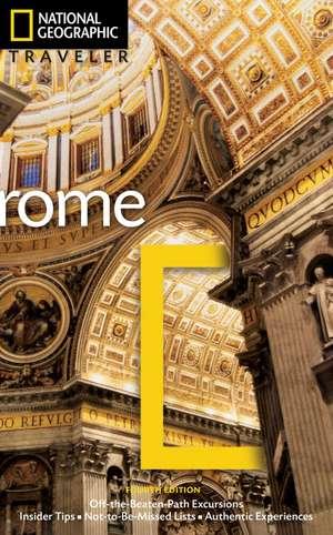 National Geographic Traveler: Rome, 4th Edition de Sari Gilbert