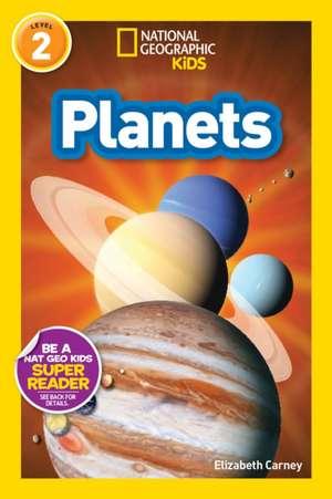 Planets: 5-8 ani de Elizabeth Carney