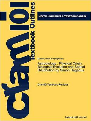 Studyguide for Astrobiology de 5th Edition McKim