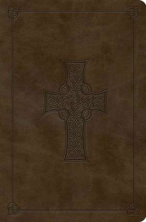 Compact Outreach Bible-ESV-Premium Celtic Cross Design