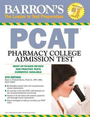 Barron's PCAT, 6th Edition