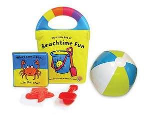 My Little Bag of Beachtime Fun [With Sand Mold, Shovel, Beach Ball] de Christine Swift