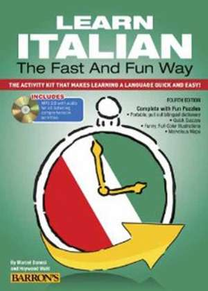 Learn Italian the Fast and Fun Way with Online Audio imagine