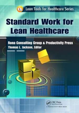 Standard Work for Lean Healthcare imagine