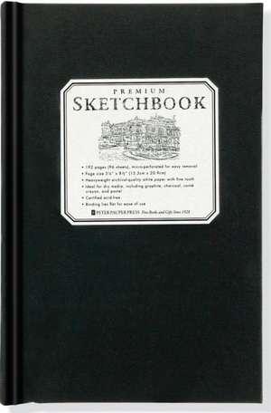 Small Premium Sketchbook:  Record Keeper & Photograph Album de Peter Pauper Press
